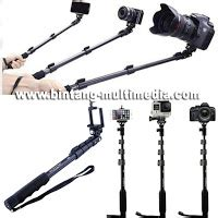 Promo Tongsis Yunteng Yt 188 Holder U For Smartphone Paling Murah tongsis monopod yunteng yt 188 plus holder u for smartphone dslr tablet bintang