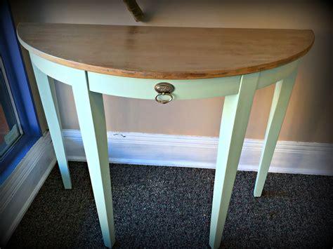 Semi Circle Entry Table Fresh Vintage Nc