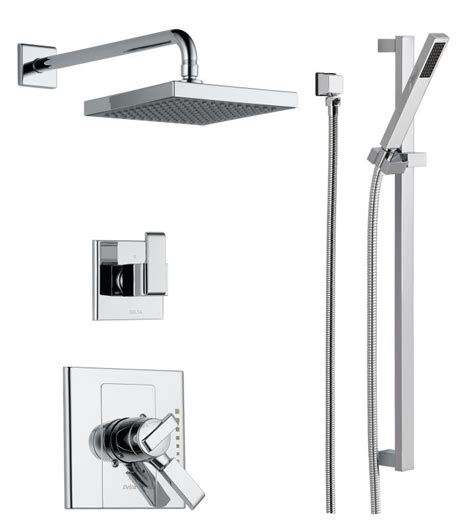 Delta Dual Shower System by Offer Ends