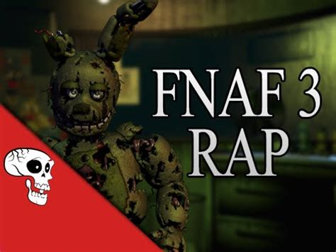 """five nights at freddy's 3 rap by jt music """"another five"""