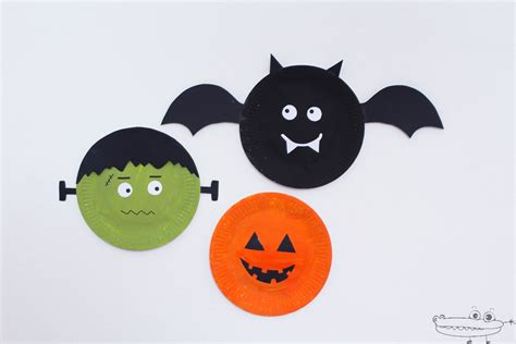 decoraciones de halloween decoraciones de halloween con platos actividades para