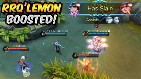 tutorial kagura rrq lemon rrq lemon kagura boosted by rrq tuturu mobile legends