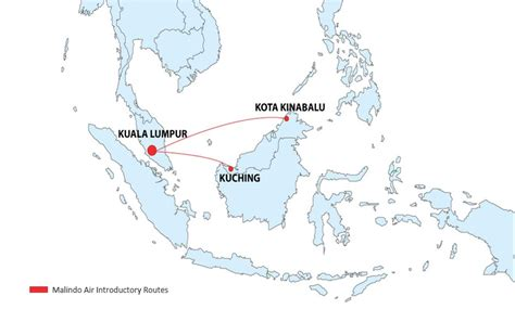 batik air route map malindo air to launch operations on two routes on march 22
