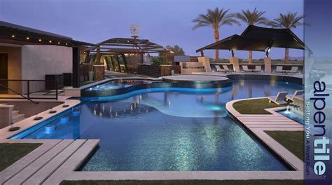 swimming pools in small spaces alpentile glass tile all the right curves alpentile glass tile pools and spas