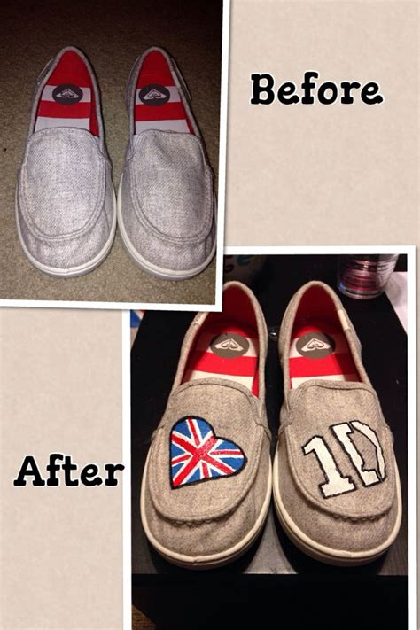 acrylic paint on shoes 1d shoes one direction shoes acrylic paint wit fabric