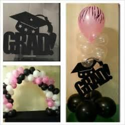 Graduation Decor by Graduation Balloon Decorations Graduation Board