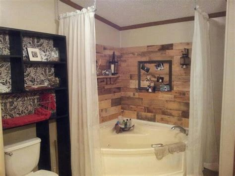 Garden Bathroom Ideas Corner Garden Tub Redo Mobile Home Living Pinterest Gardens Curtain Rods And Curtain Ideas