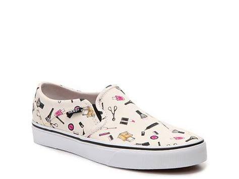 patterned vans womens vans asher printed slip on sneaker womens dsw