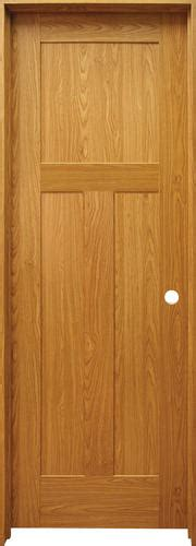 Prefinished Prehung Interior Doors Mastercraft Prefinished Craftsman Flat 3 Panel Prehung Interior Door At Menards 174