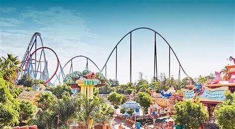 theme park spain portaventura spain theme park featuring ferrari land