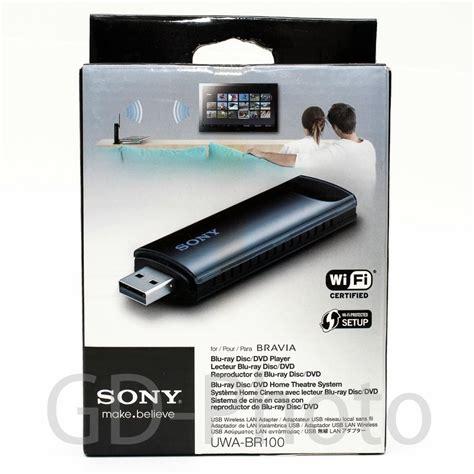 Adaptor Tv Sony new in box genuine sony uwa br100 usb wireless lan adapter bravia tv wi fi ready