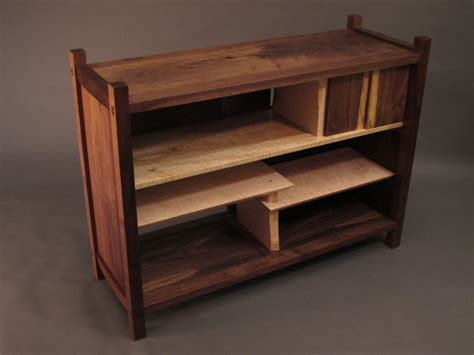 Custom Handmade Wood Furniture - modern wood console cabinet for your media console buffet