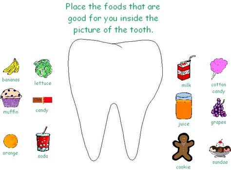 Dental Health Worksheets by Mrs Jackson S Class Website Dental Health Month