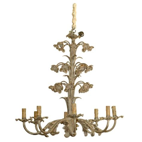 Whimsical Chandeliers Whimsical Floral Chandelier At 1stdibs
