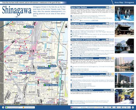 shinagawa map