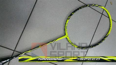 Raket Yonex Nanoray Z Speed Original yonex nanoray z speed stabilo selamat datang di vilano sport
