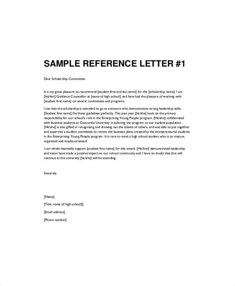 recommendation letter for student from template high school recommendation letters letter of recommendation