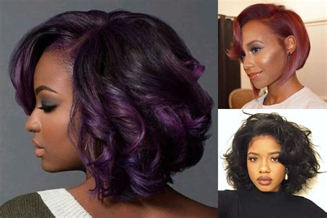 best 45 bob hairstyle for black hair color