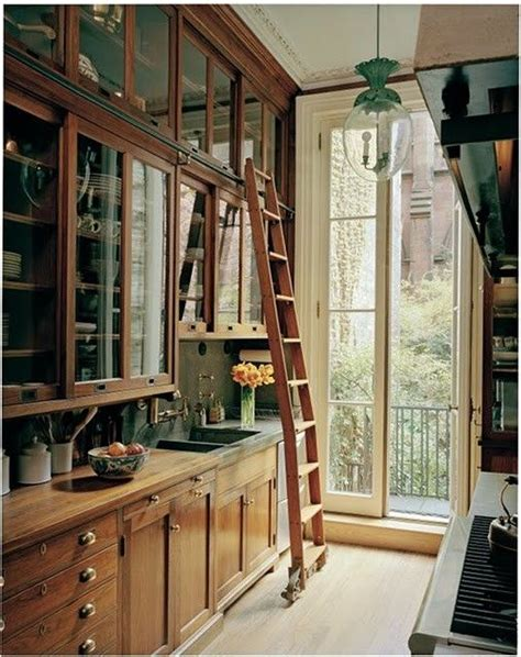 Pantry Ladder by Ladder In Butler S Pantry Kitchen Ideas