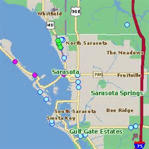 map of hotels in sarasota florida map guide to hotel rates and reservations in sarasota