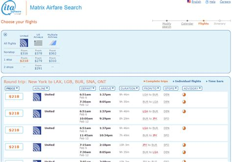using ita to find cheap airfare when your dates are dansdeals