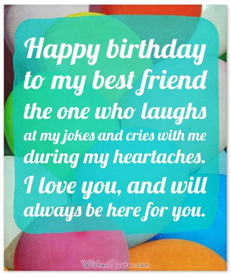 best wishes to you the one heartfelt birthday wishes for your best friends with