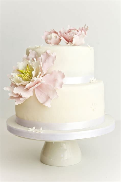 17 Best ideas about Peony Wedding Cakes on Pinterest