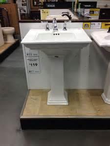 Powder Room Pedestal Sink Pedestal Sink Powder Room Dream Home Pinterest
