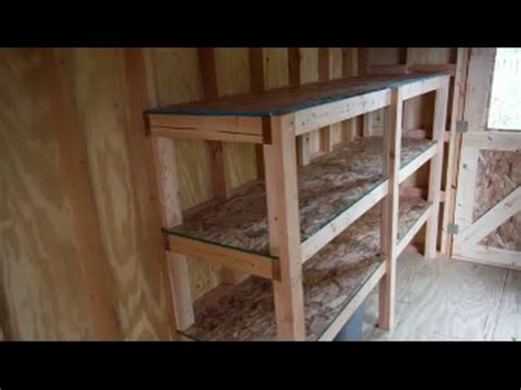 build easy  strong storage shelves youtube