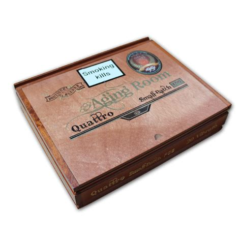 Aging Room Cigars by Aging Room Quattro Vibrato Cigar Box Of 20