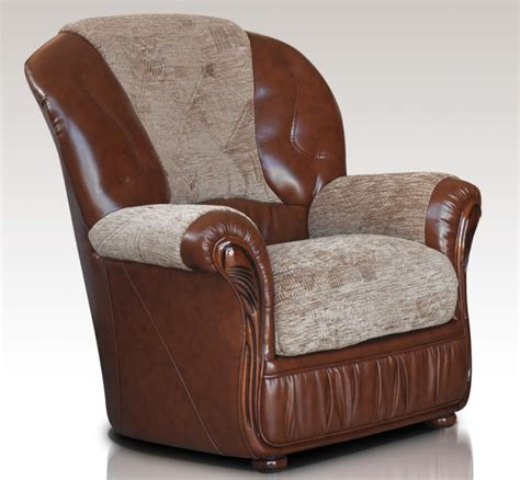 leather and fabric armchair emma armchair genuine italian brown leather fabric sofa