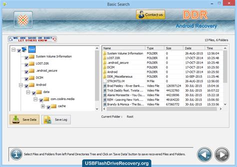 android recovery software usbflashdriverecovery org releases android data recovery software to recover android device data