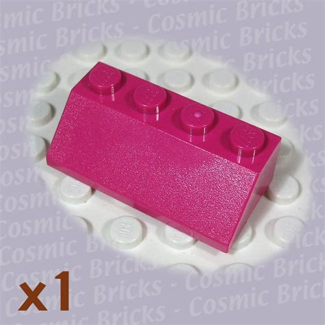Lego Part 3037 303721 Bright Roof Tile 2x4 45 lego bright reddish violet slope 45 2x4 4518889 3037
