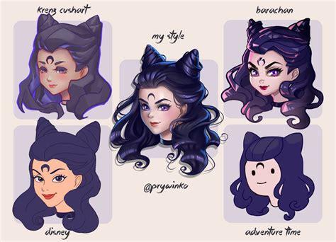 artist of hairstyle style challenge by prywinko on deviantart