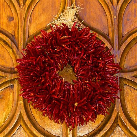 chileanchristmas decor my new favorite decoration a ristra wreath seasonal holidays chili