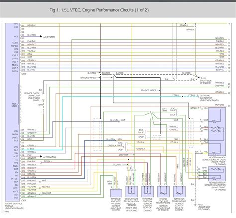 1993 honda sol relay diagram wiring diagrams