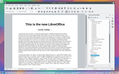 Libreoffice Free Download V5 0 1 Open Source Office Softlay Libreoffice Ebook Template