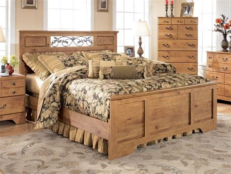 bittersweet ashley bedroom furniture ashley furniture bittersweet panel bedroom set b219 55