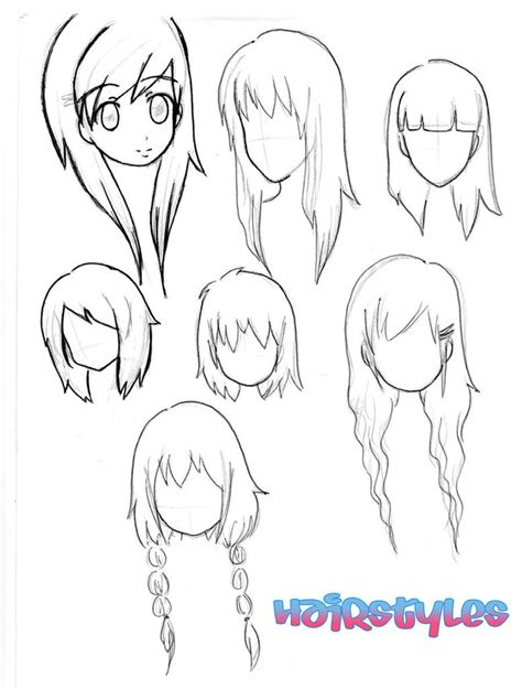cute easy hairstyles to draw chibi hairstyles drawing pinterest chibi and hairstyles