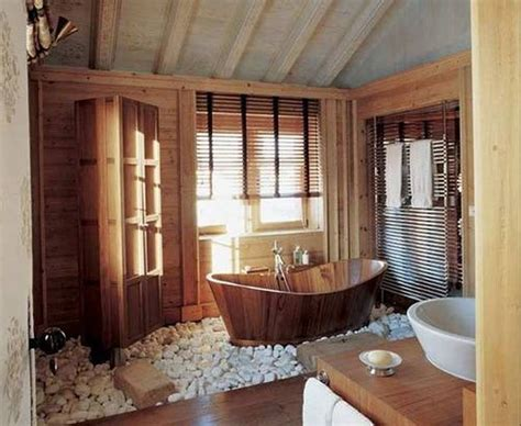 zen bathroom design zen bathroom design with rustic freestanding tub and
