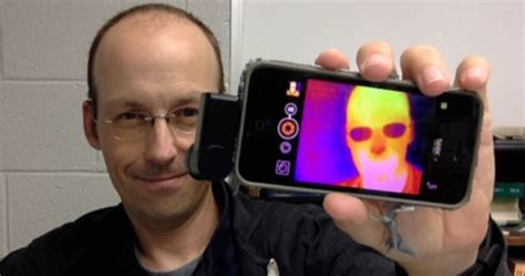 infrared android the seek thermal infrared for iphone and android wired