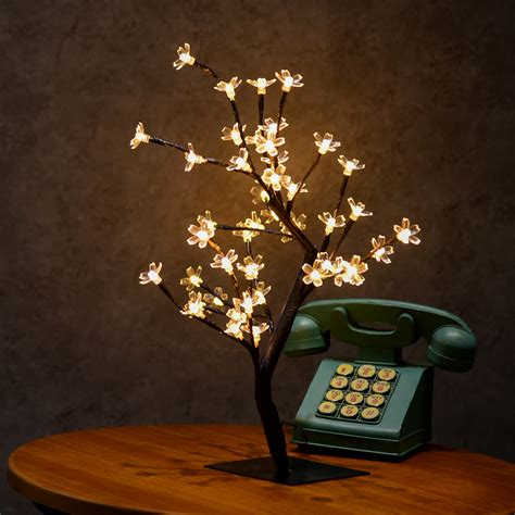 christmas light tree led cherry blossom flower tree light