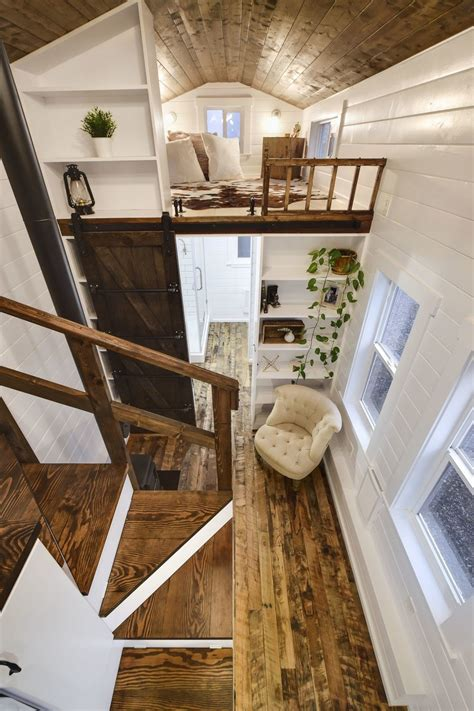 rustic modern tiny house rustic tiny house interior small rustic loft tiny house swoon