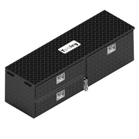the tooley 55 in 3 compartment truck utility tool box
