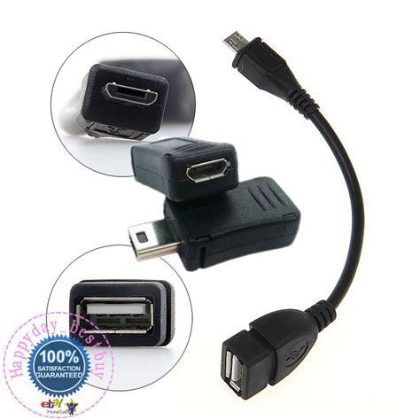 Usb A To Micro Usb 5 Pin Otg Adapter Graha Elektrik 1x micro usb 5pin otg cable black 1piece micro usb 5pin