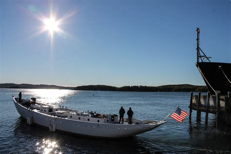 maine maritime academy boat donation program october 19 2015 transit to lyman morse support mma