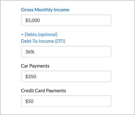 Credit Card Monthly Payment Formula Besmartee How To Use A Mortgage Affordability Calculator