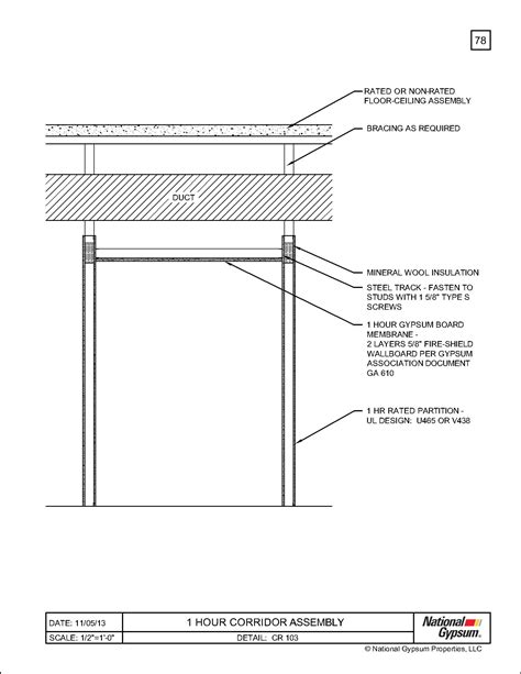 hour fire rated ceiling assembly wwwgradschoolfairscom