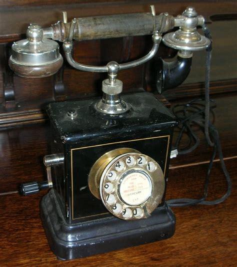 early  century phone telephones telephones