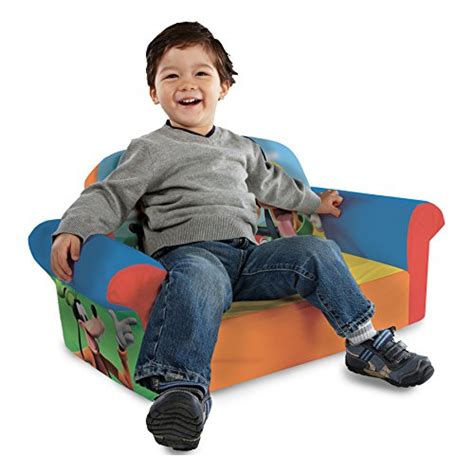 Marshmallow Flip Open Sofa Mickey Mouse by Marshmallow Furniture Children S Upholstered 2 In 1 Flip